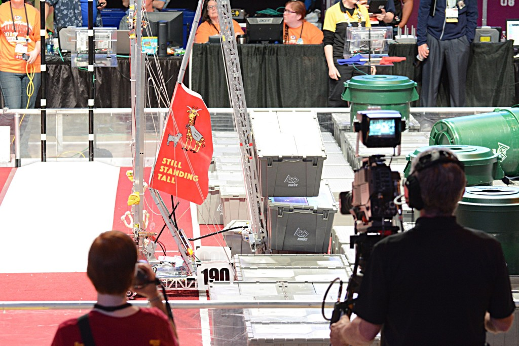 Team 190 Gompei and the H.E.R.D. (WPI & Massachusetts Academy of Math and Science)