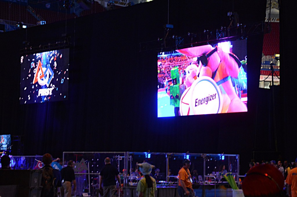 My view of the opening ceremonies from Entrance D.